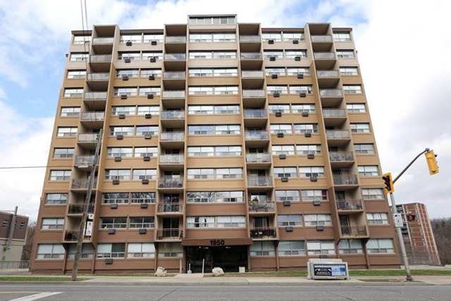 Condominiums for sale and rent at 1950 Main Street West, Hamilton