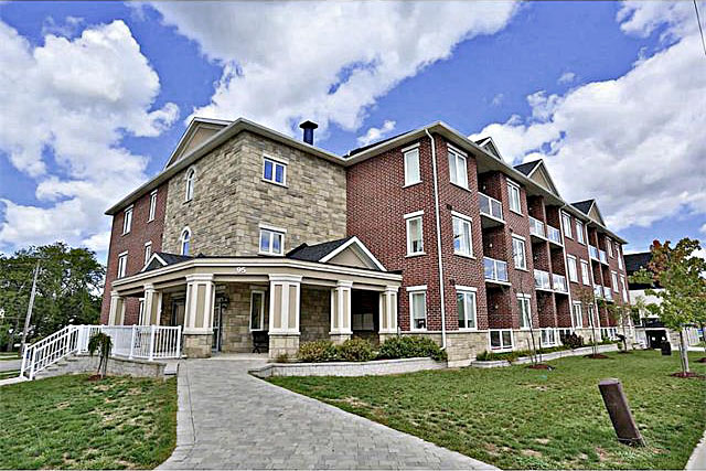 The Kensington condominiuim building at 95 Wilson Street West, Ancaster